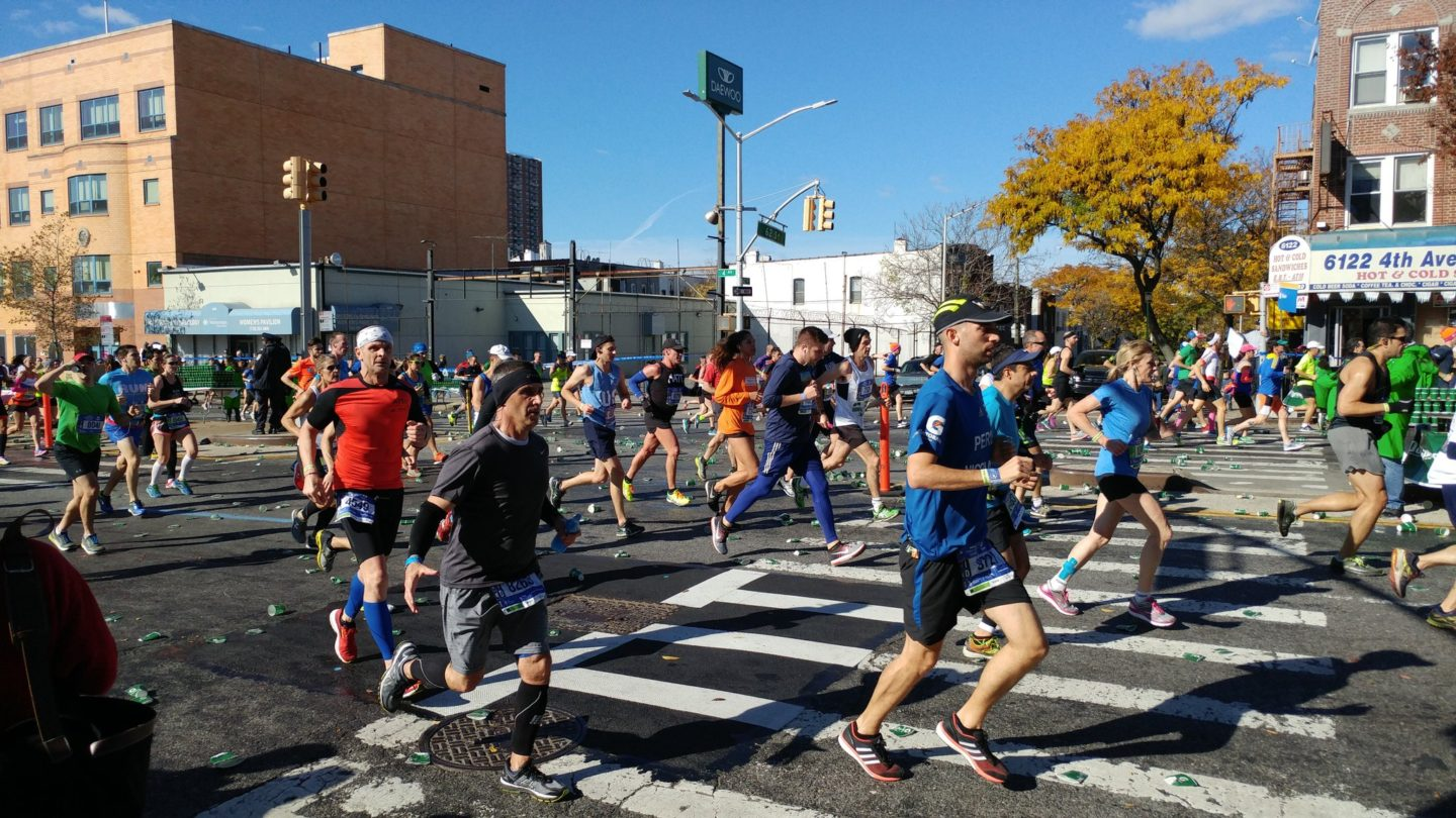 Marathon 2016: Scenes from the Sidelines