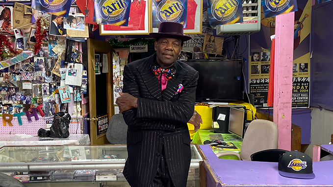 Rawlston Charles at his Calypso City store in Bedford-Stuyvesant.