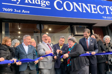 Ribbon cutting at Bay Ridge Connects senior center in Brooklyn.