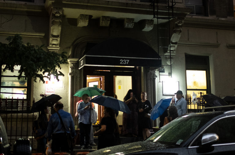 The rainy night when West 107th Street residents tried to block the city Department of Homeless Services from removing women from a shelter.