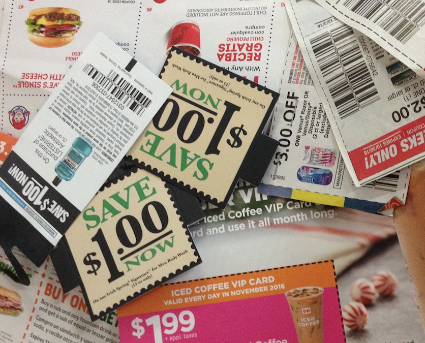 5 Steps for Couponing Today
