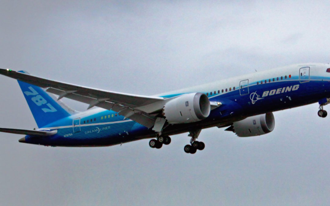 Weaker Dollar Pushes Boeing Stocks Higher