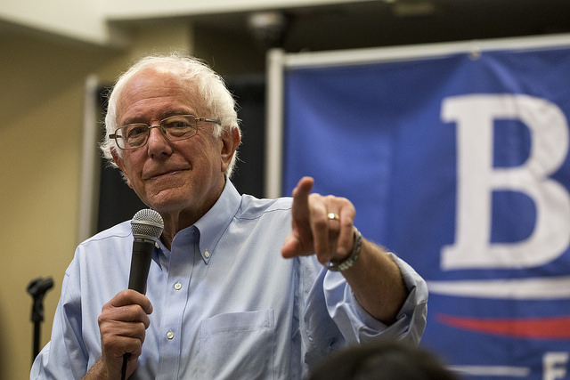 After Amazon Raises Minimum Wage to $15, Bernie Sanders Says McDonald's Should Do the Same
