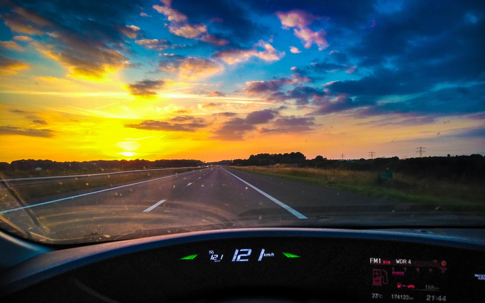 I wanna drive away