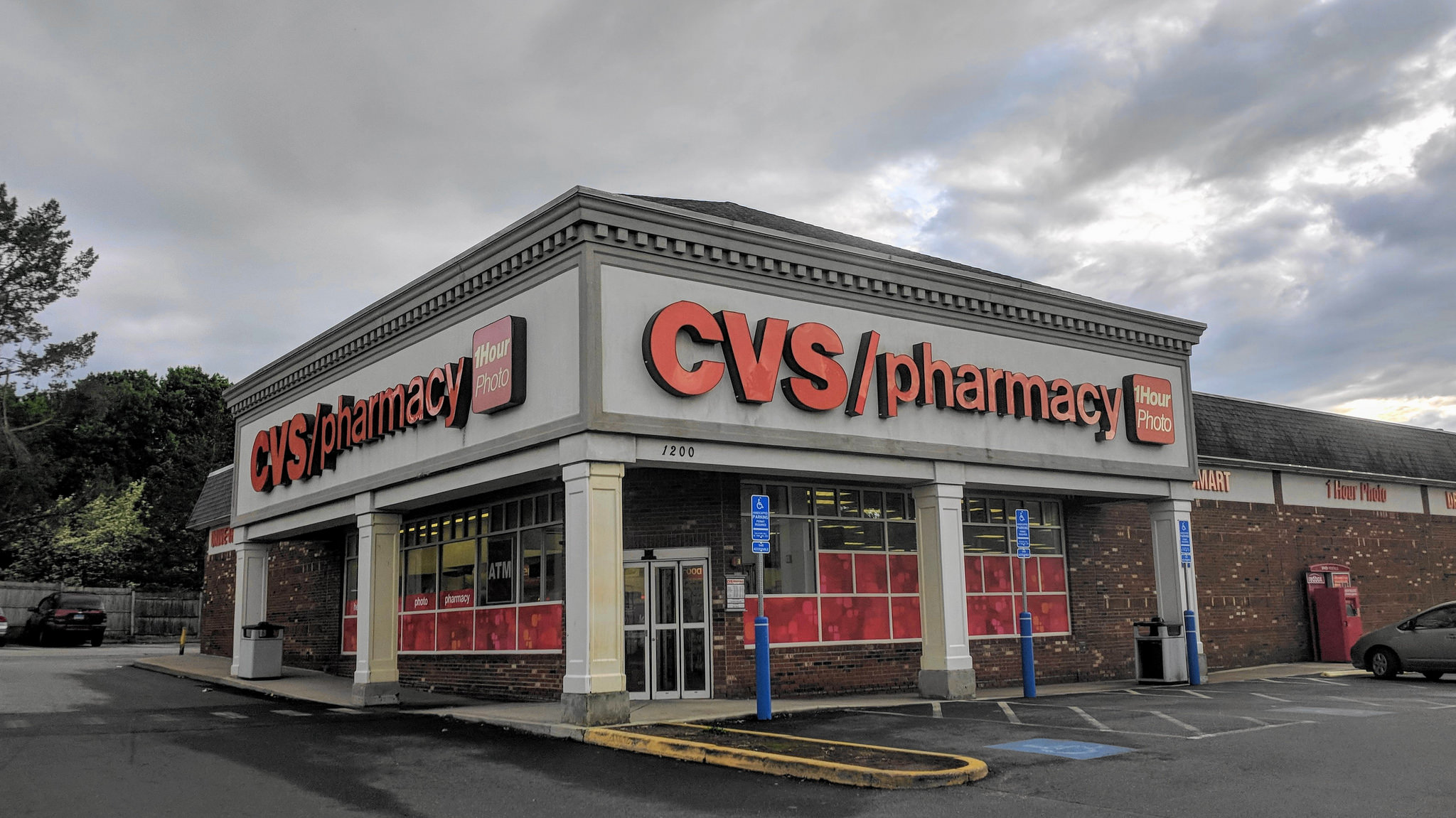 CVS store in Willimantic, Connecticut