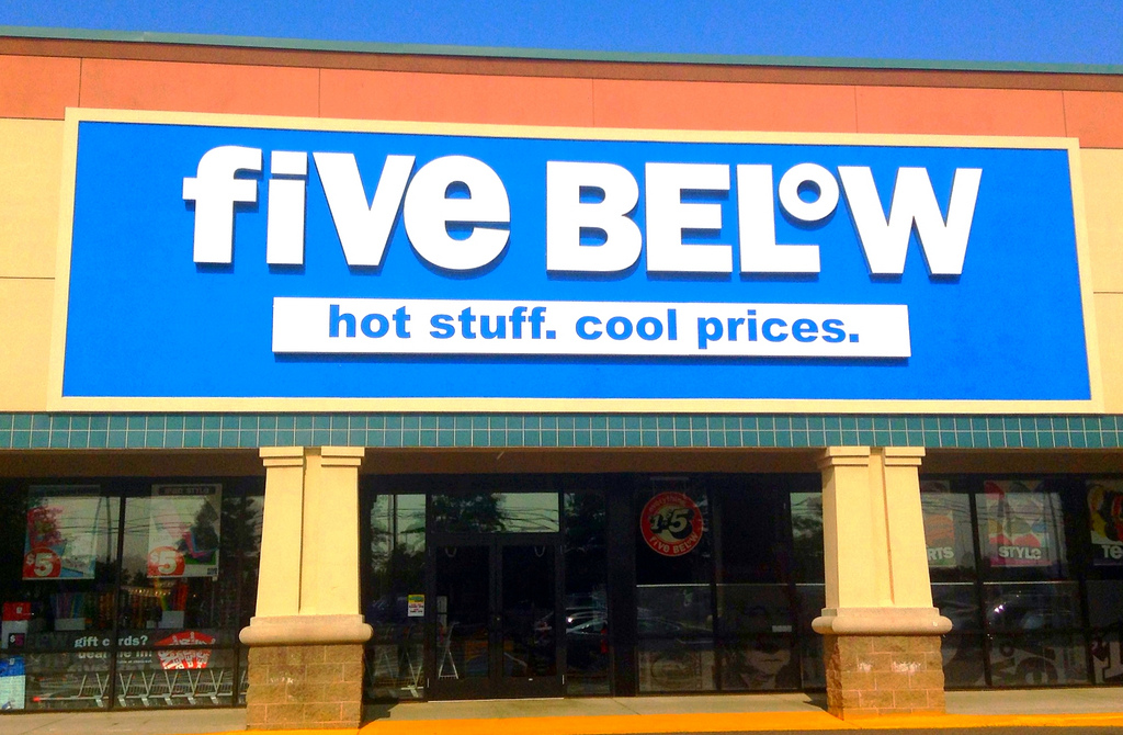 Five Below shops for new buyers as Toys R' Us closes