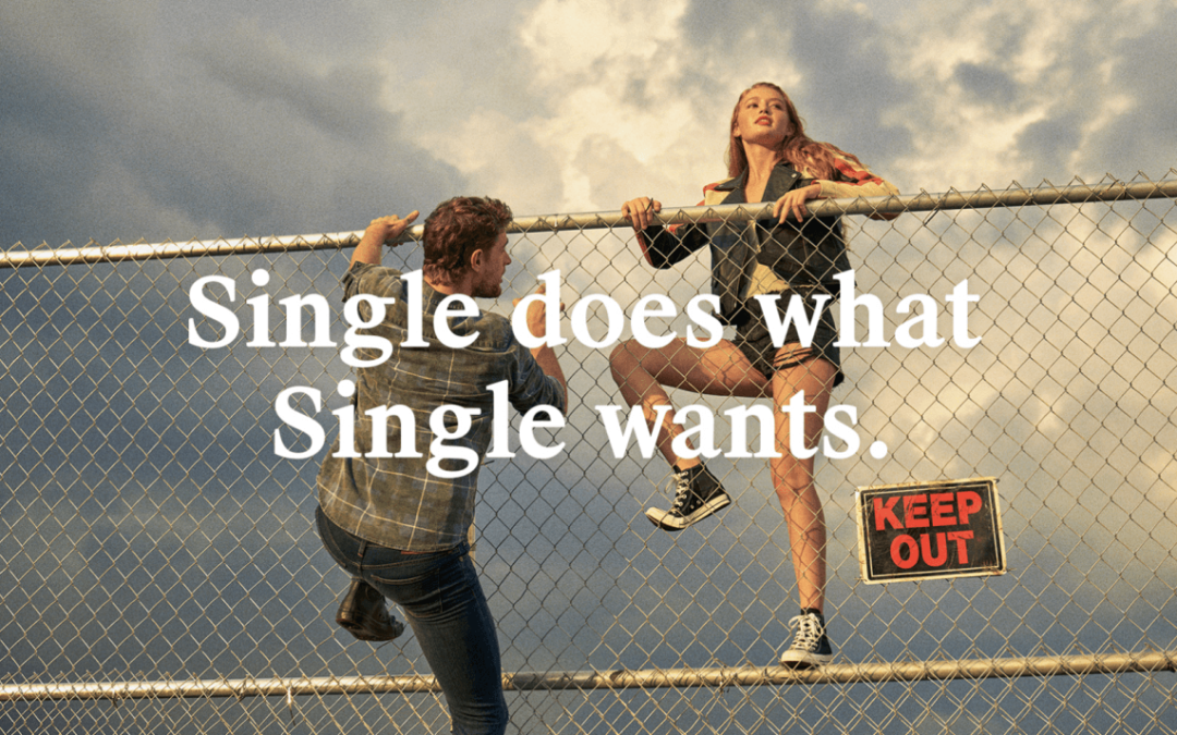 """Single Not Sorry"": Embracing Tinder, Match Settles on Not Settling Down"