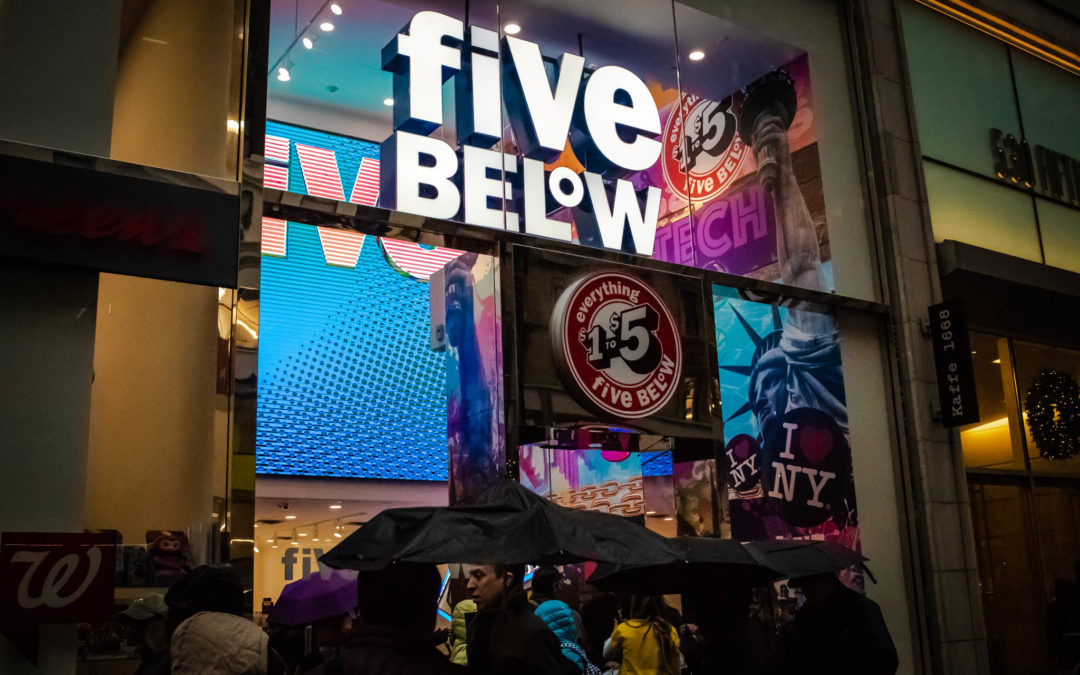 How Discount Chain Five Below Wants To Fill a Void Left by Toys R' Us